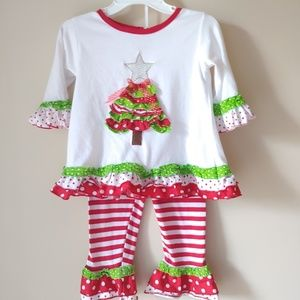 2 piece Christmas outfit